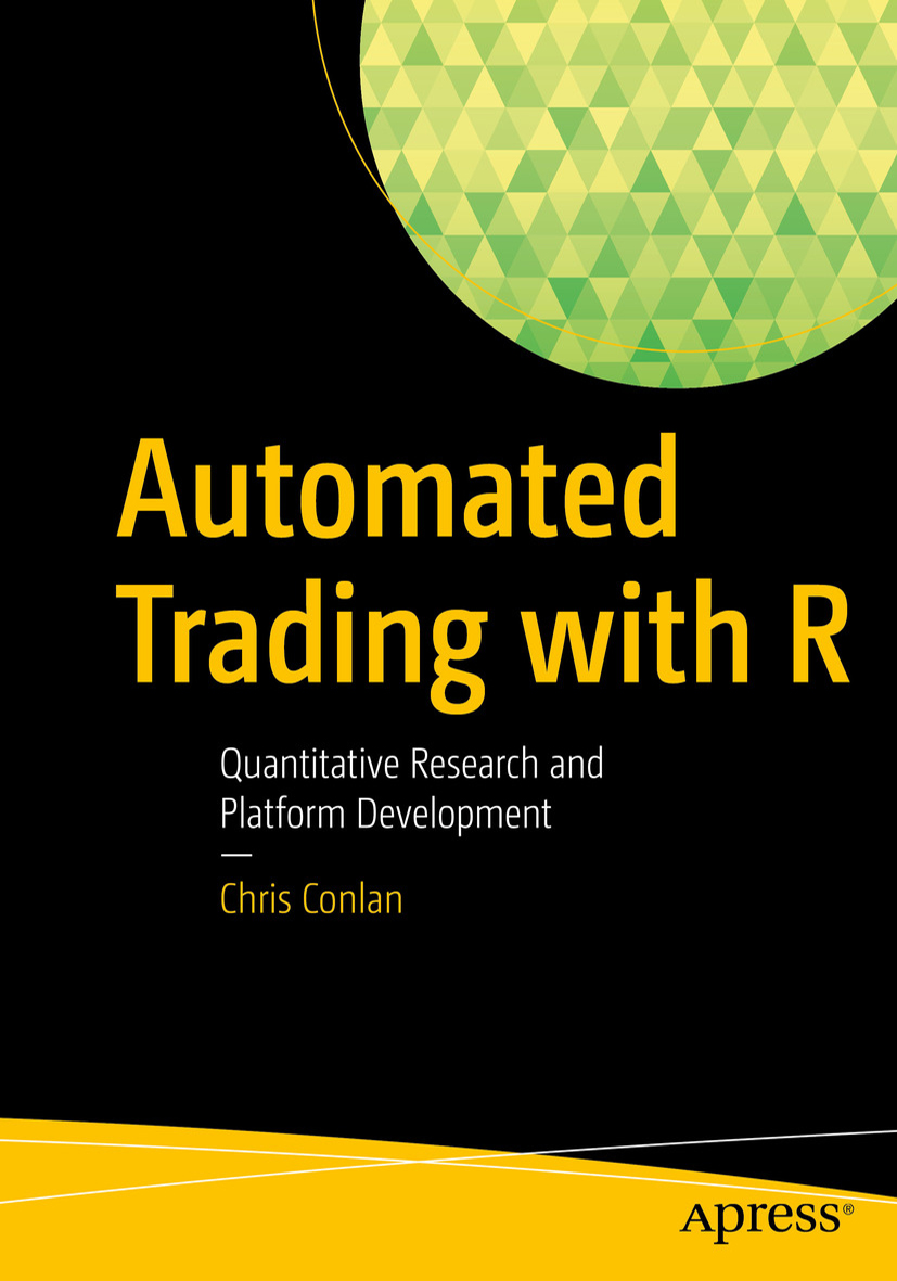 Automated Trading with R by Chris Conlan - Cover