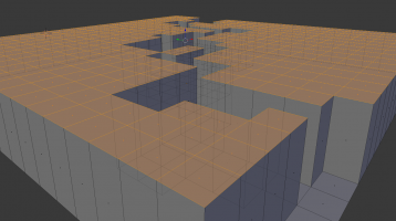 Procedurally Generating a Maze in Blender Python