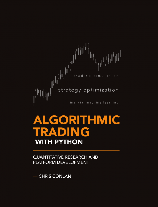 Algorithmic Trading with Python by Chris Conlan